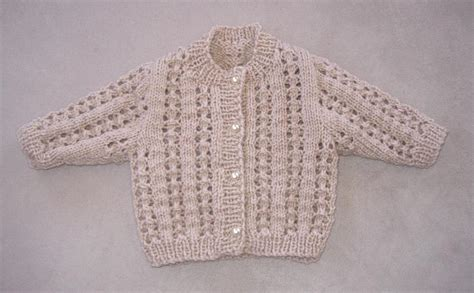 8 ply baby knitting patterns babies 8ply lacy cardigan by essentially knitting