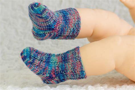 knitting baby socks newborn baby socks by alma mahler craftsy