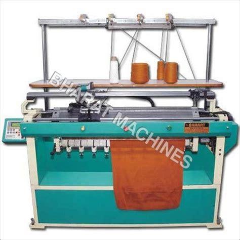 Flat Knitting Machine Flat Knitting Machine Exporter