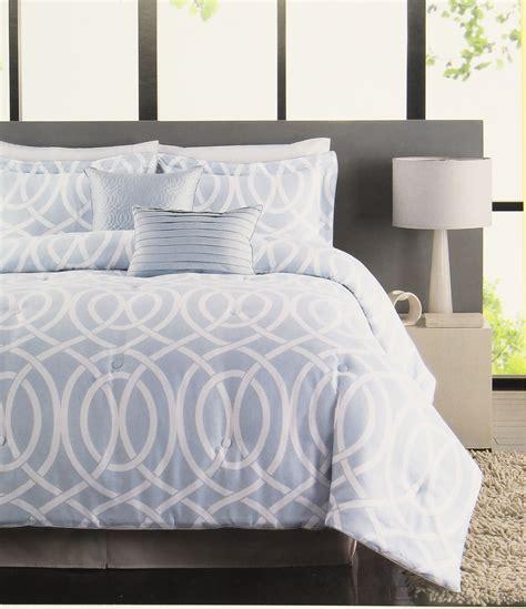 light blue and white comforter set raymond waites bridgeport 5 comforter set light blue