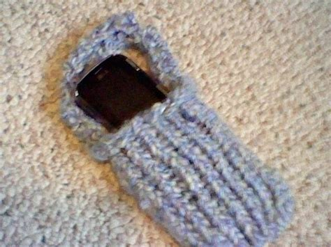 cell stitch knitting loom knit cell phone holder 183 how to stitch a knit or