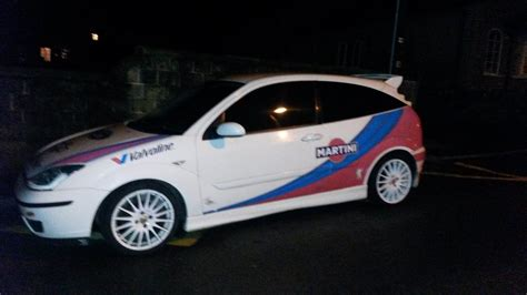 Ford Focus Rally Car For Sale by 2000 Ford Focus Colin Mcrae Martini Replica Rally Car For Sale