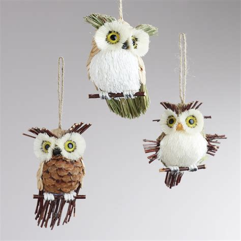 owls ornaments 1000 images about decor on pinecone