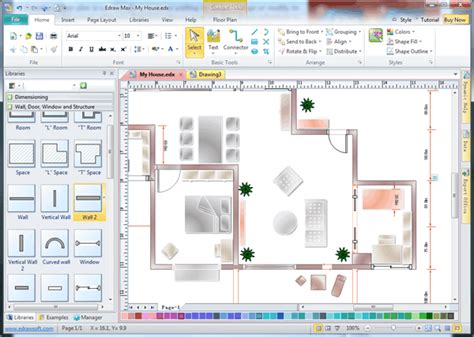 architecture design software free architect software with built in symbols