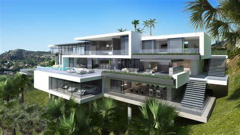 la house contemporary mansions on sunset plaza drive la