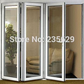 aluminum doors exterior aluminium bi folding exterior doors aluminum folding door