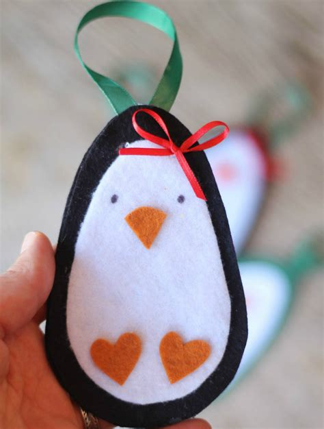 penguin crafts for to make diy ornaments penguin gift tags crafts unleashed