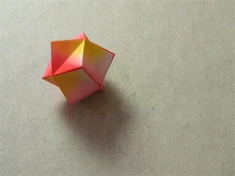 origami stellated octahedron origami stellated octahedron montroll