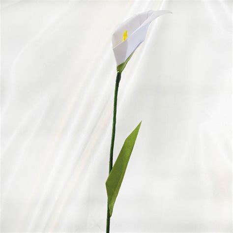 calla origami buy origami calla flower