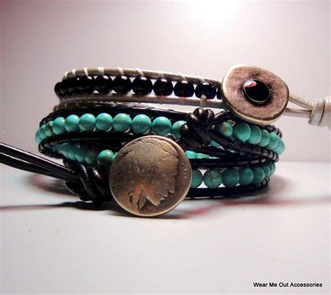 how to make leather jewelry leather wrap bracelet by wearmeoutaccessories craftsy