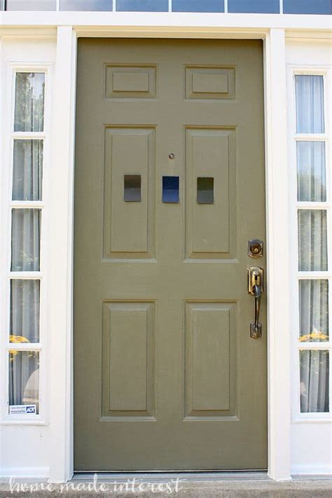exterior door paint a simple fall house update how to paint an exterior door