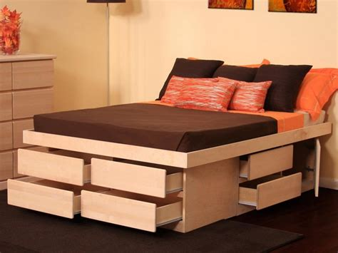platform bed with storage drawers bed size platform bed with drawers kmyehai