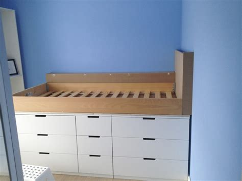ikea nordli bed hack diy how to make an ikea hack children s cabin bed with