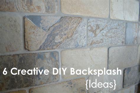 diy bathroom backsplash ideas kimboleeey diy backsplash ideas for your kitchen and