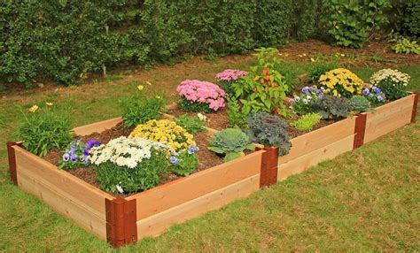 how to set up a vegetable garden bed raised garden beds raised bed kits frame it all