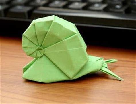 origami snail animal origami snail para cuando tenga un rato