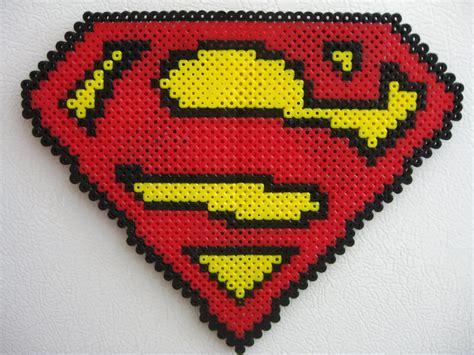 big perler perler big superman logo by slimer530 on deviantart