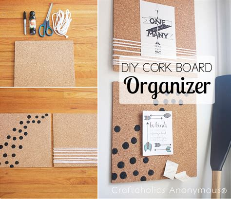 Home Office Design Trends 2014 craftaholics anonymous 174 diy cork board frame and organizer