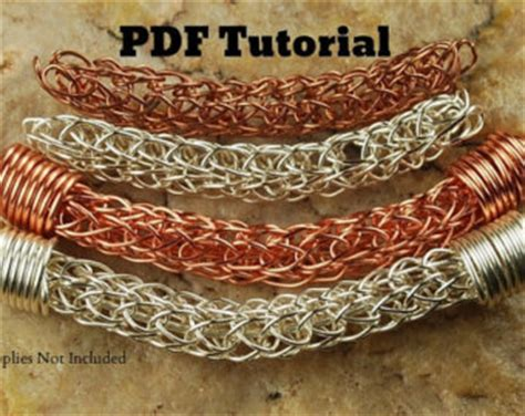 viking knit tutorial plum garden viking knit bracelet tutorial lwork