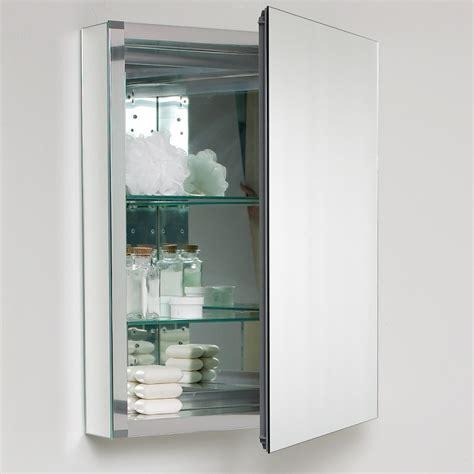 Bathroom Mirror Medicine Cabinet by Fresca 20 Quot Wide Bathroom Medicine Cabinet W Mirrors
