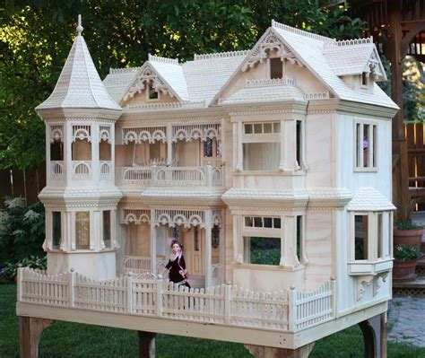 dollhouse woodworking plans delightful dollhouses and more