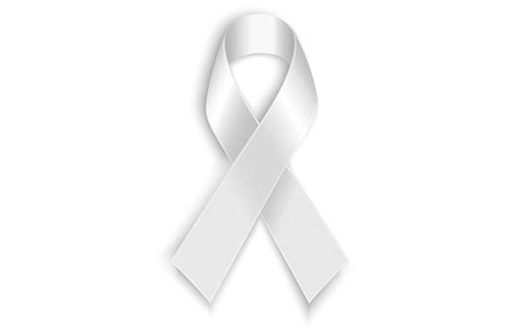 white ribbon the colin biggers paisley foundation supports the