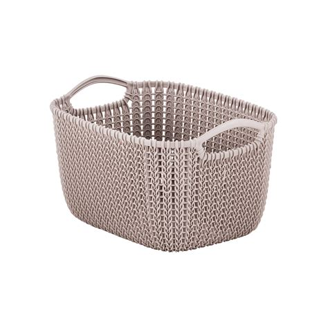 knitting baskets sand knit baskets the container store