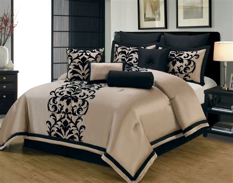 and black king size comforter sets 28 images 7 pc new