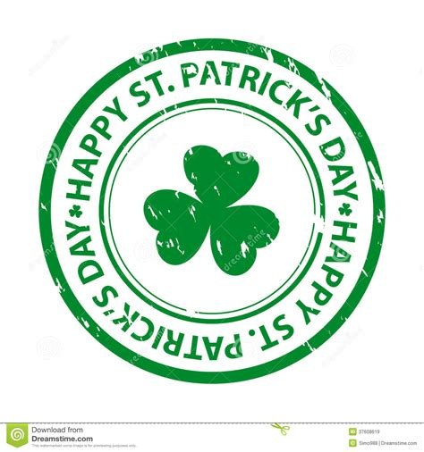 st rubber st patricks day rubber st royalty free stock images