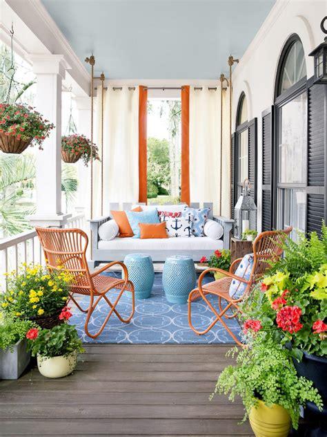 outdoor patio decorating ideas porch design and decorating ideas hgtv