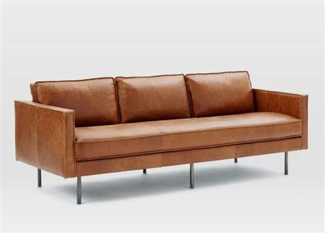 leather modern sofas best 25 modern leather sofa ideas on