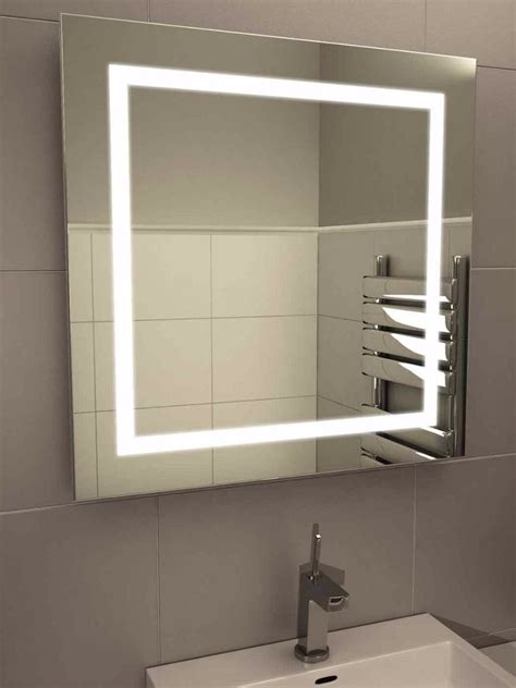 bathroom mirrors led lights led light bathroom mirror 161 illuminated