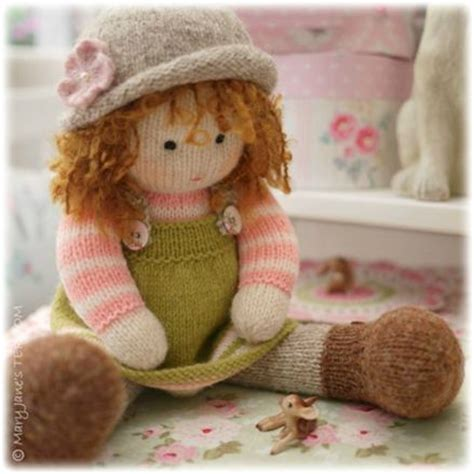 knitted doll patterns best 25 knitted dolls ideas on