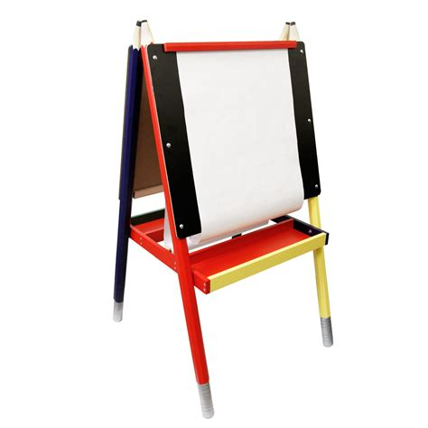 chalkboard paint easel us supply zuma children s paint drawing artist easel