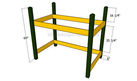 how to build a loft bed frame free loft bed plans howtospecialist how to build step