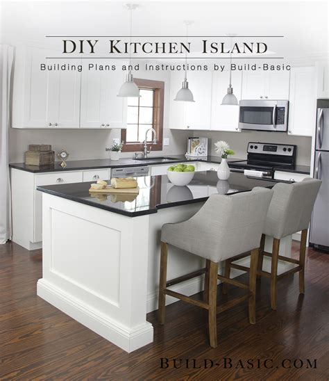 kitchen island building plans build a diy kitchen island build basic