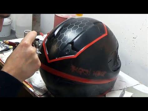 spray paint motorcycle helmet troy designs d3 custom paint how to paint a helmet