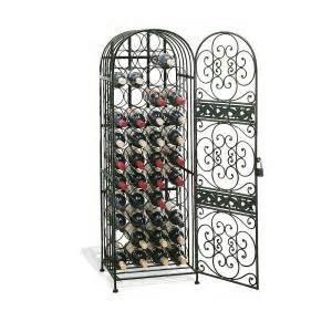 home depot wrought iron paint wine enthusiast renaissance wrought iron wine 634 45