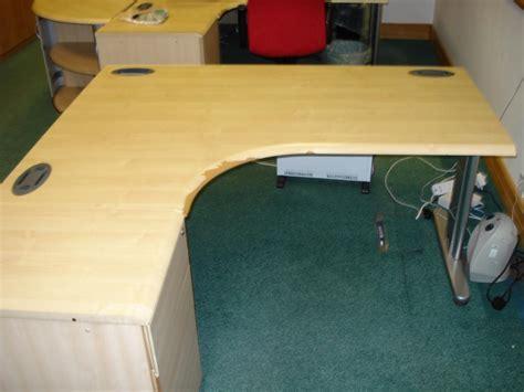 second corner desk buy this morris b4 1600mm corner desk desk height