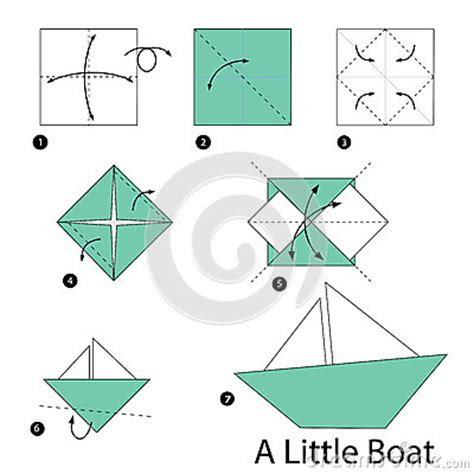 step by step origami boat step by step how to make origami a