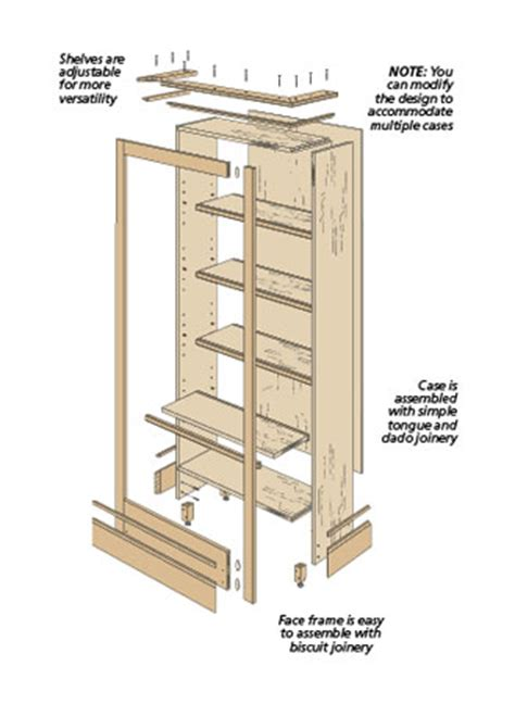 bookcase woodworking plans classic bookcase woodsmith plans