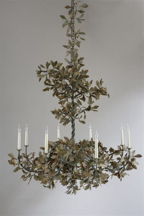 oak leaf chandelier oak leaf chandelier charles saunders