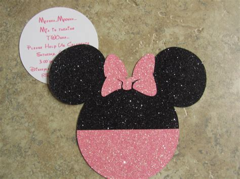 how to make minnie mouse invitation cards stuff your didn t make minnie mouse invitations