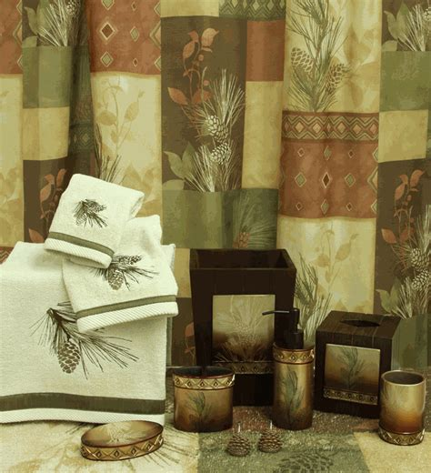 pine bathroom accessories pine cone bath accessories