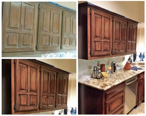 java gel stain kitchen transformation general finishes