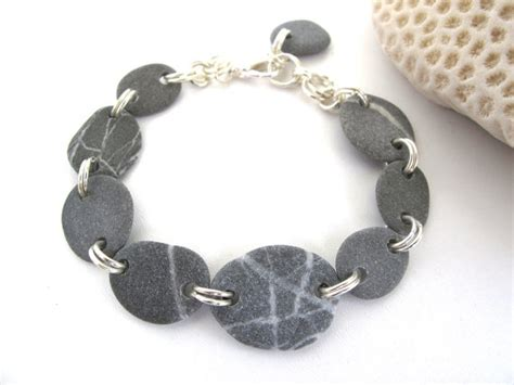 stones and for jewelry pebble bracelet jewelry stary by