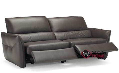 natuzzi reclining sofa versa b842 leather sofa by natuzzi is fully customizable