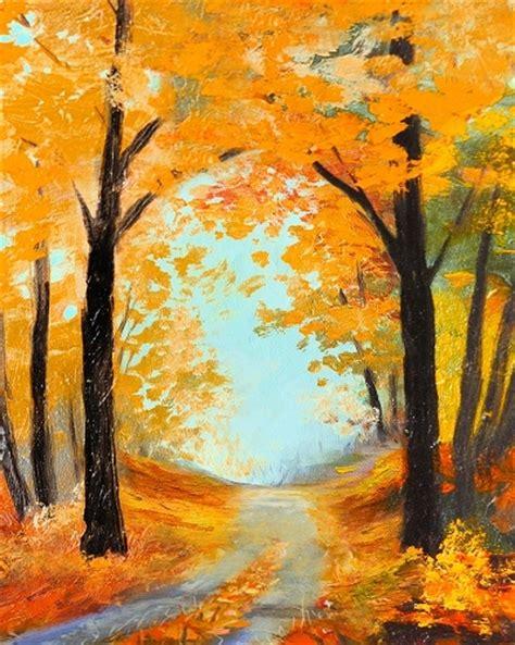 paint nite hton roads paint nite autumn road