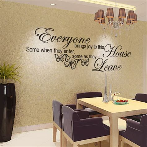 sticker decor for walls wall decoration stickers words www pixshark images