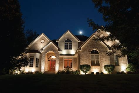 landscape lighting on house light up their nights turf